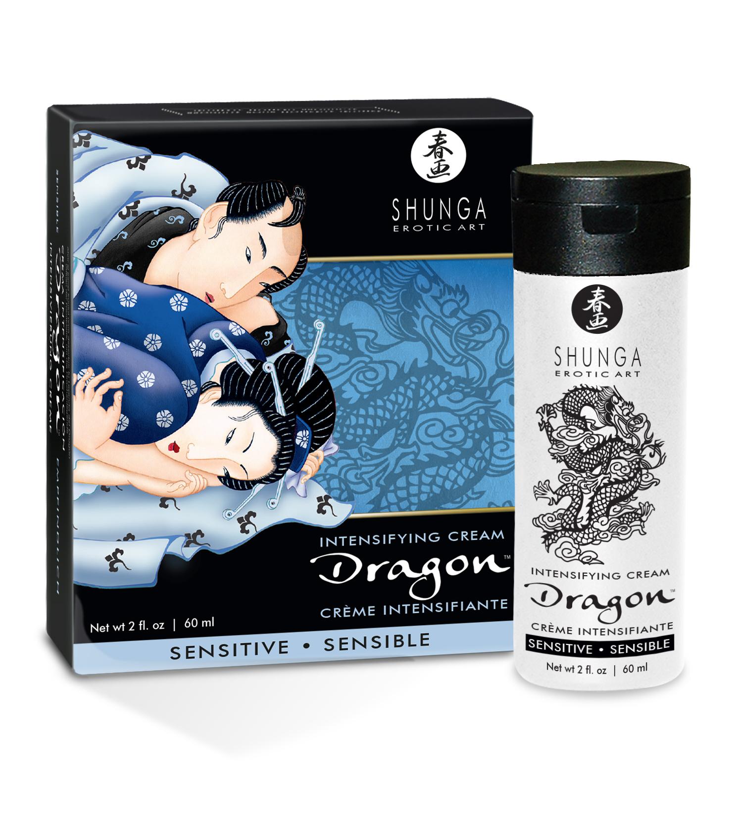 SHUNGA Dragon SENSITIVE krém - 60 ml - Topherba